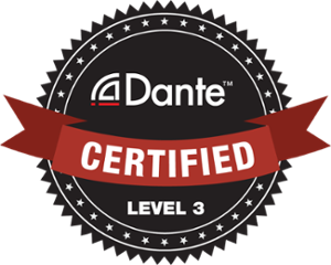 Audinate Dante Certified Level 3