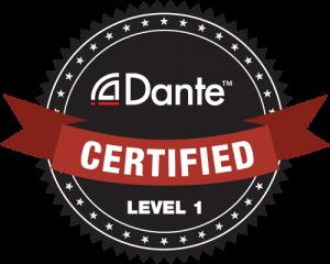 Dante Certified Level 1