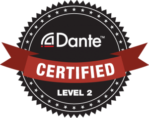 Audinate Dante Certified Level 2